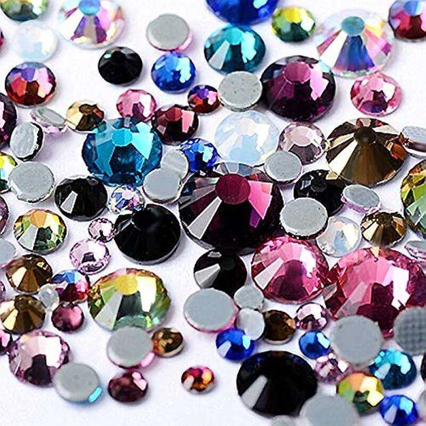 調和ピクニックをする請求FidgetGear 1400ピースフラットバック3dネイルアートデコレーションラインストーングリッターネイルアクセサリー宝石