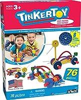 Tinkertoy–Wild Wheels Buildingセット–76ピース–Ages 3+–Preschool教育玩具