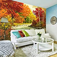 Xbwy カスタム壁画壁画3D寝室のベッドサイドヨーロピアンスタイルの壁紙リビングルームレストランソファ壁画テレビ背景風景壁紙-200X140Cm