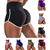 Aliwendy Women's Workout Shorts Scrunch Booty Gym Yoga Pants Middle/High Waist Ruched Butt Lifting Sports Leggings