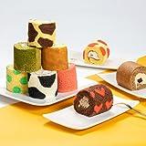 わらいみらい ロールケーキ 詰め合わせ ミニロール ギフト ロールケーキタワー 誕生日ケーキ プチケーキ (9個セット)