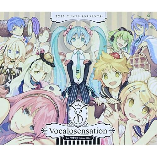 EXIT TUNES PRESENTS Vocalosensation(ボカロセンセーション) feat.初音ミク (ジャケットイラストレーター:左)(数量限定オリジナルマウスパッド&ストラップ付)