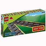 レゴ (LEGO) デュプロ 直線レール 2734