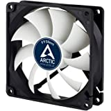 ARCTIC F9 Silent - 92 mm Case Fan, Very Quiet Motor, Computer, Almost inaudible, Push- or Pull Configuration, Fan Speed: 1000