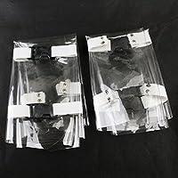 Melleco 2本の歯科用椅子ユニットマットクッションパッド防塵爪カバープラスチックプロテクター