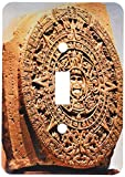3drose LSP _ 86737?_ 1?Mexico City、Sun Stone Calledアステカカレンダーsa13?mgl0000?Mivaストックライトスイッチカバー