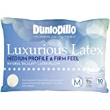 Luxurious Latex Medium Profile & Firm Feel Pillow by Dunlopillo
