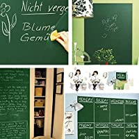 クインウィンド 便利なチョークボード黒板リムーバブルビニールウォールステッカーデカール黒板壁ステッカー子供の DIY - 白