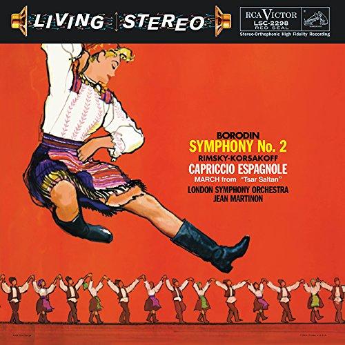 Borodin: Symphony No. 2 / Rimsky-Korsakov: Caprico [Analog]