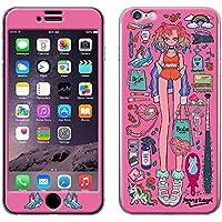 【iPhone8/7対応 Gizmobies/ギズモビーズ】JENNY KAORI(ジェニーカオリ)×Gizmobies/CHELSEA GIRL ピンク [ZK-0002-IP07-A]