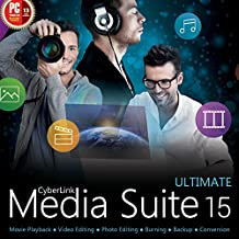 CyberLink Media Suite 15 Ultimate (最新)|ダウンロード版