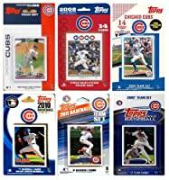 C & I Collectables CUBS612TS MLB Chicago Cubs 6 Different Licensed Trading Card Team Sets