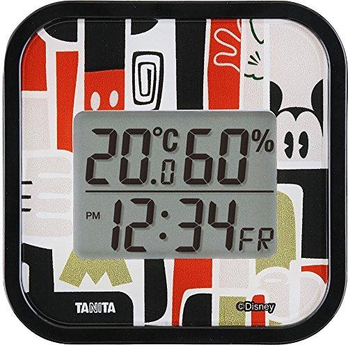 タニタ デジタル温湿度計 (見るたびハッピーな温湿度計) ミッキー TT-DY01-MK