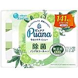エリエール Puana(ピュアナ) ウエットティシュー 除菌ノンアルコールタイプ つめかえ用47枚×3P