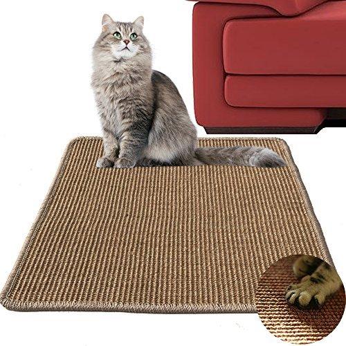 Diversity World 100%天然の猫スクラッチサイザルアサパッド (50cm*50cm)