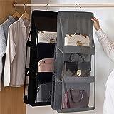 OLOEY Clutches Purse Bags Suit Bags, Original Pack of 6 Premium Quality PVC Moth Proof Clutch Purses Covers Dustproof Clear C