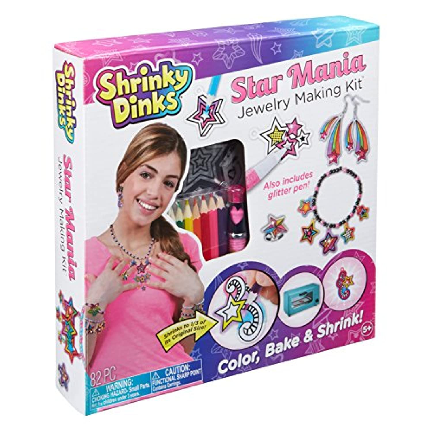 Shrinky Dinks Star Maniaジュエリーキット