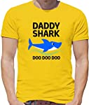 Daddy Shark Doo Doo Doo - Mens T-Shirt - 13 Colours