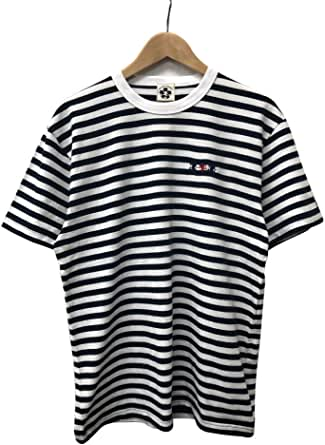 《WEB限定》 悟空本舗 ワンポイント刺繍ボーダーTシャツ GT-8900