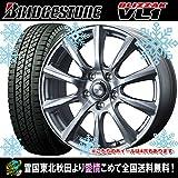 【12インチ】 スタッドレス 145R12 8PR ブリヂストン ブリザック VL1 ウェッズ ジョーカーストレート タイヤホイール4本セット 国産車