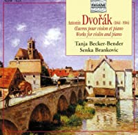Dvorak:Works for Violin & Pian