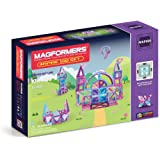 Magformers 63212 Inspire Set (100-pieces) Magnetic Building Blocks, Educational Magnetic Tiles Kit , Magnetic Construction ST