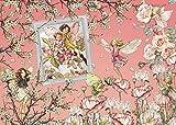 (塗り絵&ポストカード付)心ときめく妖精たちの世界へようこそ FLOWER FAIRIES COLOUR & LINE ART BOOK 画像