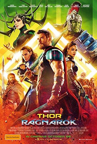 マイティ・ソー バトルロイヤル Thor: Ragnarok シルク調生地 ファブリック アート キャンバス ポスター 1 約60×90cm マイティー ソー [並行輸入品]