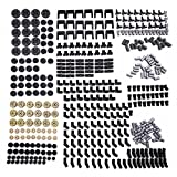 (450Pcs) - New Technic Series Parts - 450 Pieces Gear Chain Link Connectors Bricks Sets- Compatible With All Major Brands