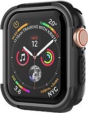 UMTELE コンパチブル Apple Watch Series4 ケース アップル ウォッチ シリーズ4ケース 保護ケース 全面保護カバー 着装まま充電可能 Apple Watch Series 4 専用 44mm アップルウォッチ4 だけに対応 耐衝撃性 精密操作 高感度&高級感 防汗(44mm、グレー)
