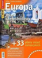 Europa atlas samochodowy + 33 plany miast europejskich 1:900 000