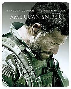 【Amazon.co.jp限定】アメリカン・スナイパー ブルーレイ スチールブック仕様(1枚組/デジタルコピー付) [Blu-ray]