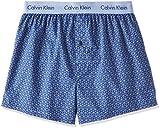 (カルバンクライン)Calvin Klein Boxer Matrix Woven Slim Fit Boxer トランクス 53671513 65 ダークミッドナイト L