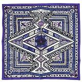 (エルメス) HERMES スカーフ カレ 90 ツイル ORS BLEUS D'AFRIQUE バイオレット/ホワイト/アイボリー 27442 [並行輸入品]