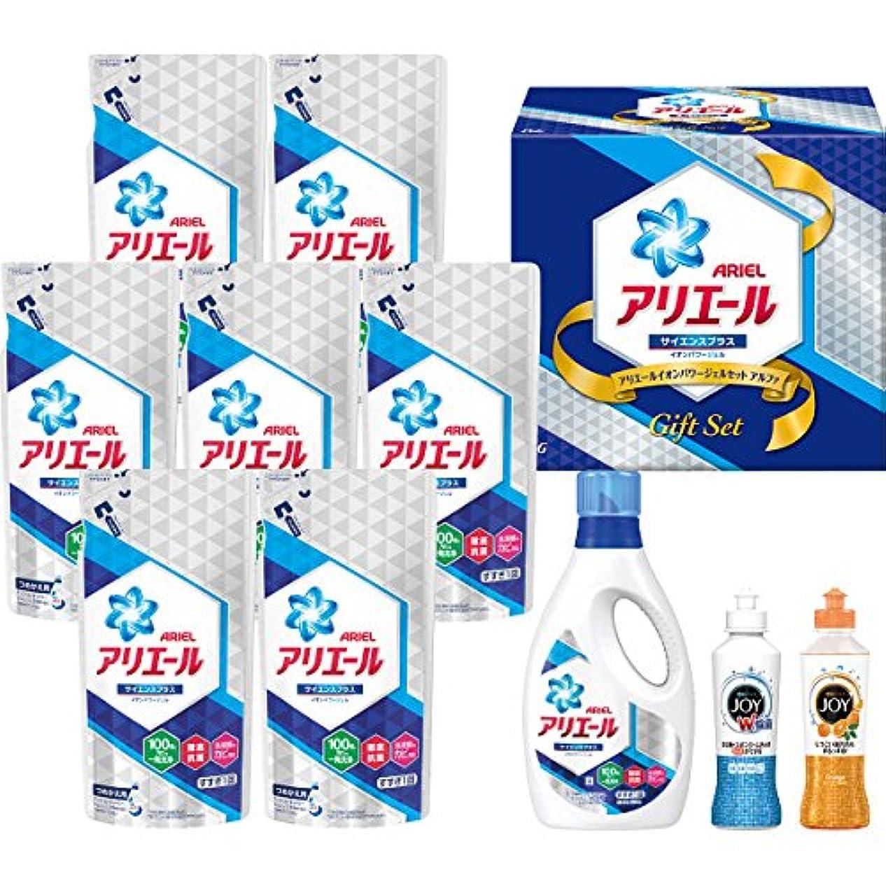 氏不当サラミP&G(ピーアンドジー) 【お歳暮2018】P&G アリエールイオンパワージェルセット アルファ(PGAS-50X)