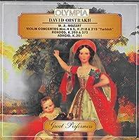 Concerto per violino K 218 n.4 in RE (1775) Concerto per violino K 219 n.5 in LA 'Turkish' (17
