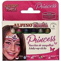 アルピノ プリンセス フェイスペイント 6色セット
