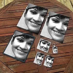 JANET FIELDING - オリジナルアートギフトセット #js001 (A4キャンバス - A4プリント - コースター - 冷蔵庫マグネット - キーリング - マウスマット - スケッチカード)