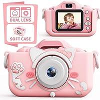 子供用カメラ,TONDOZENキッズカメラ トイカメラ 2000万画素 1080P HD 高画質動画カメラ キッズデジカ…