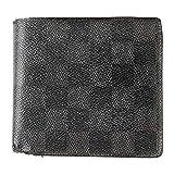 (ルイヴィトン) LOUIS VUITTON 財布 二つ折り ダミエグラフィット ポルトフォイユ・マルコ 黒 N62664