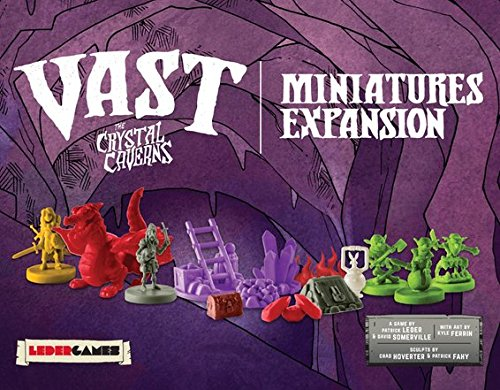 Vast - The Crystal Caverns Board Game - Miniatures