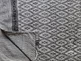 イカットブロックプリントファブリック Kantha キルトクイーンインドリバーシブルの Boho 寝具スロー
