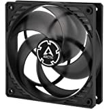 ARCTIC P12 PWM PST - 120 mm Case Fan with PWM Sharing Technology (PST), Pressure-optimised, Quiet Motor, Computer, Fan Speed: