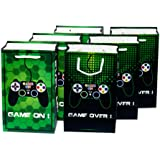 WERNNSAI Game Party Bags - 16 Pack Loot Gift Bags Party Supplies for Kids Boys Birthday Baby Shower Party Favor Treat Goody B