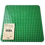 グルポートイ ブロック ベースプレート 38X38cm LEGO duplo レゴ デュプロ ブロックラボ 互換品 同規格 の 大きい 板 基礎板 (緑)