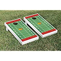 Ferris State Bulldogs regulation Cornholeゲームregulation Cornhole Game Setフットボールフィールドバージョン