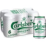 Carlsberg Smooth Draught Can, 320ml (Pack of 6)