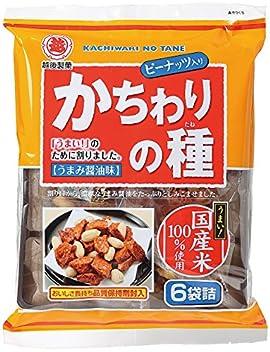 越後製菓 かちわりの種 110g×6袋