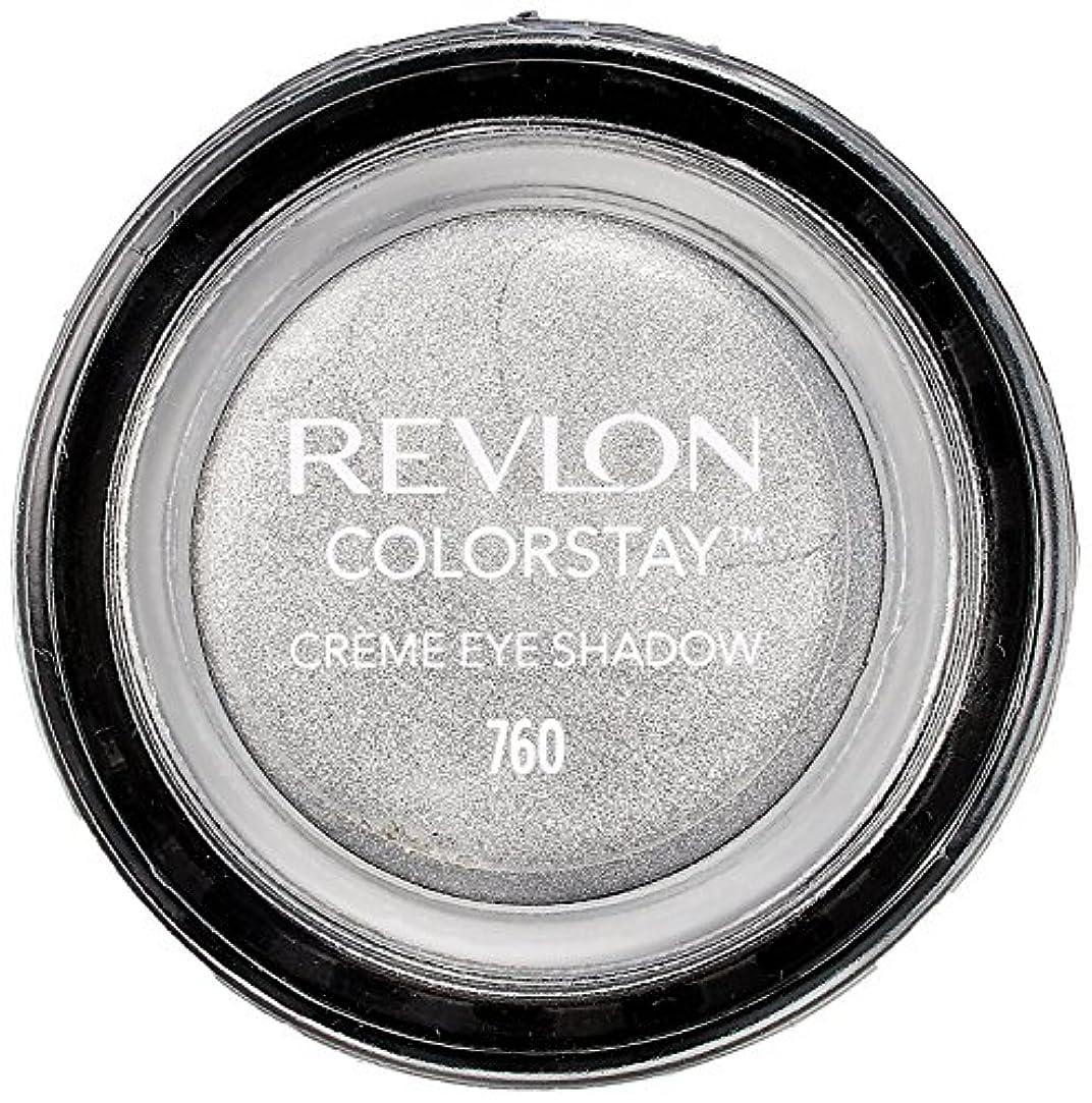神社ジャベスウィルソン大統領レブロン カラーステイ クリーム アイ シャドウ 760 カラー:アール グレー(シルバーグレー)