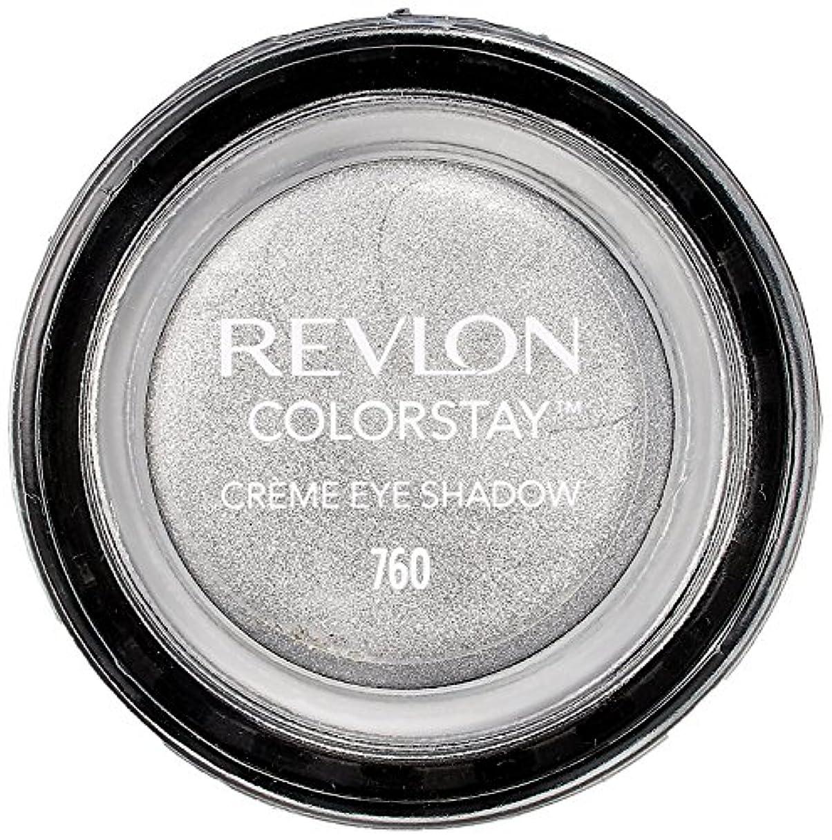 ミンチ光の権限を与えるレブロン カラーステイ クリーム アイ シャドウ 760 カラー:アール グレー(シルバーグレー)